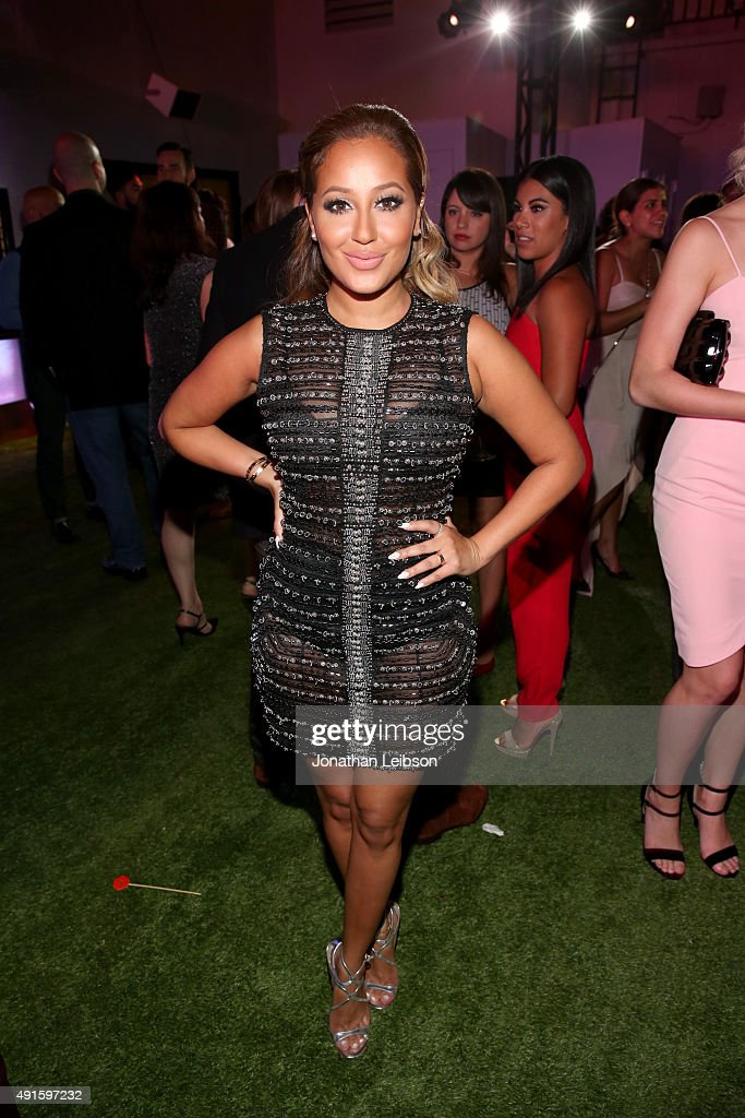 Adrienne Bailon attends the Latina 'Hot List' Party hosted by Latina Media Ventures at The London West Hollywood on October 6, 2015 in West Hollywood, California.