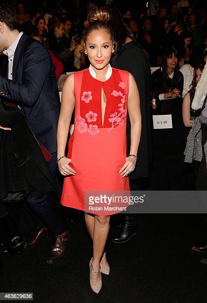 Adrienne Bailon attends Vivienne Tam at The Theatre at Lincoln Center on February 16 2015 in New York City