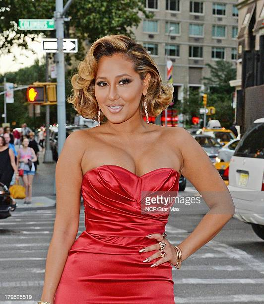 Adrienne Bailon is seen on September 4 2013 in New York City