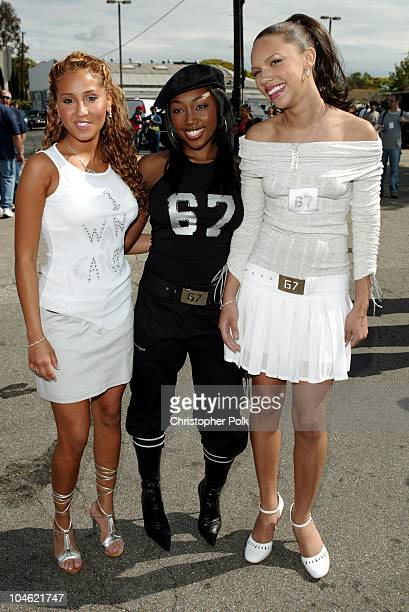 Adrienne Bailon Jessica Benson and Kiely Williams of '3LW'