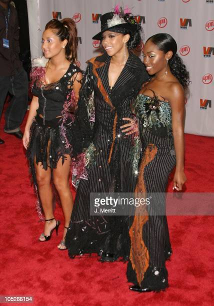 Adrienne Bailon Kiely Williams and Jessica Benson of '3LW'