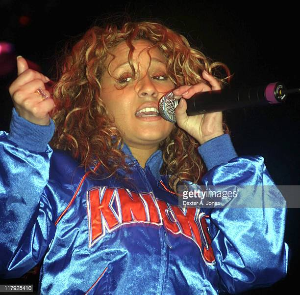 Adrienne Bailon of '3LW' during AllStar Weekend Concert Series February 20 2005 at Colorado Convention Center in Denver Colorado United States