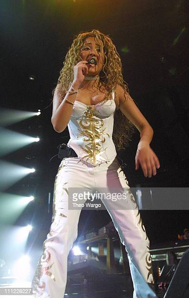 Adrienne Bailon of 3LW during Opening of MTV's 'TRL' Tour at Pepsi Arena July 18 2001 at Pepsi Arena in Albany New York United States