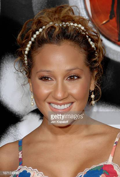 Adrienne Bailon The Cheetah Girls during Disturbia Los Angeles Premiere Arrivals at Grauman's Chinese Theater in Hollywood California United States