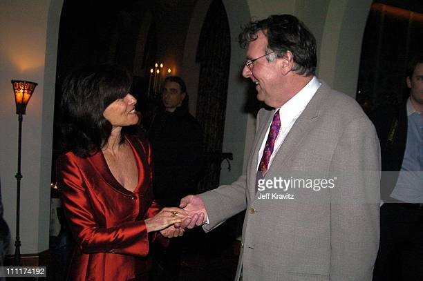 Adrienne Barbeau and Tom Wilkinson during HBO Films Pre Golden Globes Party Inside Coverage at Chateau Marmont in Los Angeles California United States