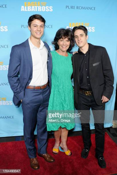 Adrienne Barbeau ang guests attend the Premiere Of Eagle And The Albatross held at Charlie Chaplin Theatre on February 29 2020 in Los Angeles...
