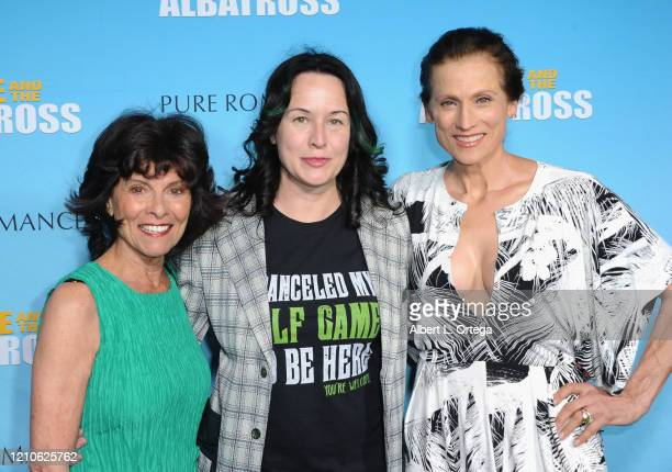 Adrienne Barbeau Angela Shelton and Nancy La Scala attend the Premiere Of Eagle And The Albatross held at Charlie Chaplin Theatre on February 29 2020...