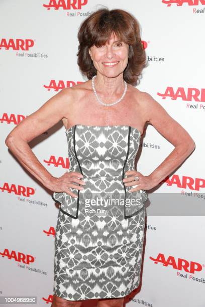 Adrienne Barbeau attends the AARP TV For Grownups Honors at Sunset Tower on July 24 2018 in Los Angeles California