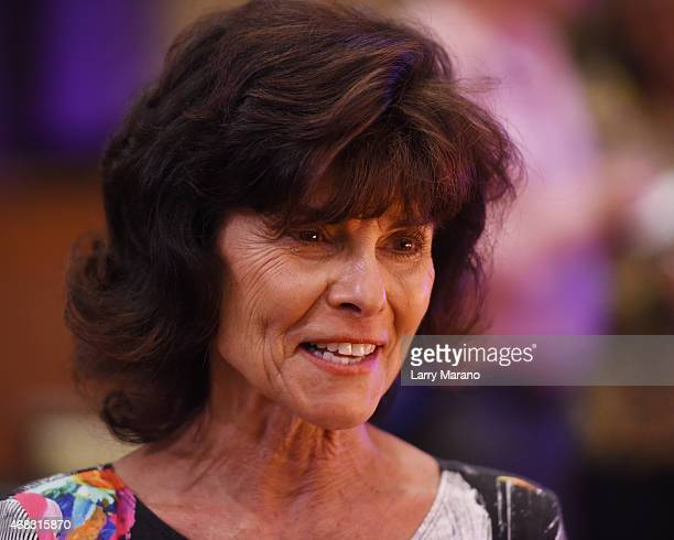 Adrienne Barbeau attends the Pippin Media Preview at Broward Center For The Performing Arts on April 1 2015 in Fort Lauderdale Florida