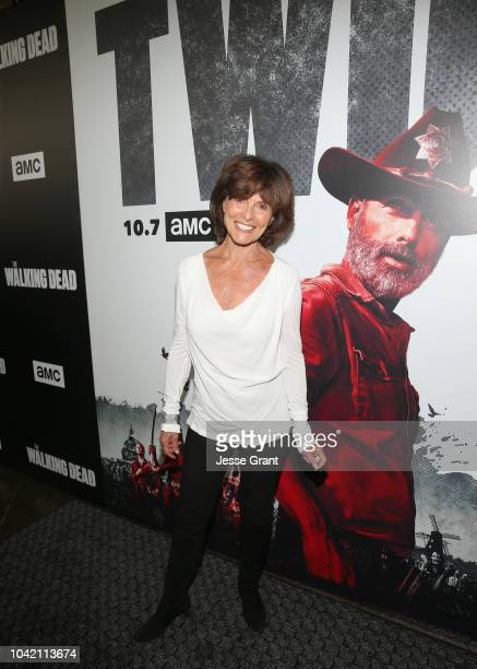 Adrienne Barbeau attends The Walking Dead Premiere and After Party on September 27 2018 in Los Angeles California