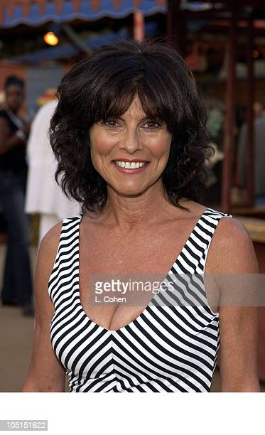 Adrienne Barbeau during HBO hosts party for the new series 'Carnivale' at Warner Bros Studios BackLot in Burbank CA United States
