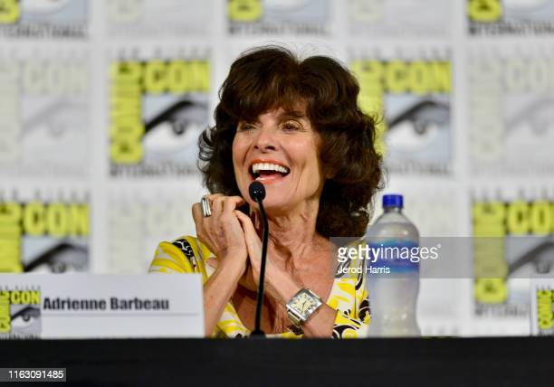 Adrienne Barbeau spekas at the Creepshow Panel at Comic Con 2019 on July 19 2019 in San Diego California