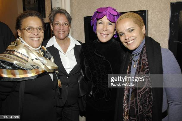 Adrienne Belafonte Sherly Cooks Julie Belafonte and Shari Belafonte attend CHAIR AND THE MAIDEN SHARI BELAFONTE Presents MYTHOSTORIES at CHAIR AND...