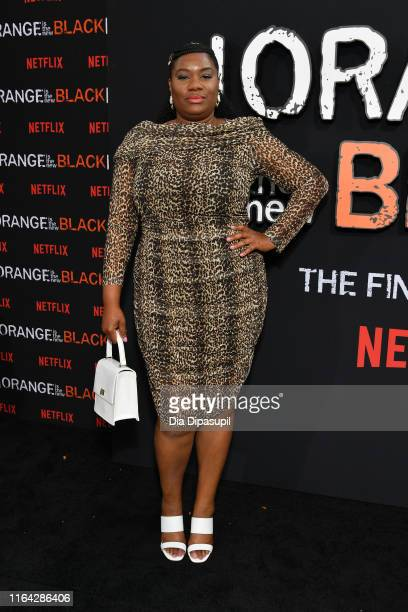 Adrienne C Moore attends the Orange is the New Black Season 7 World Premiere Screening and Afterparty 2019 on July 25 2019 in New York City