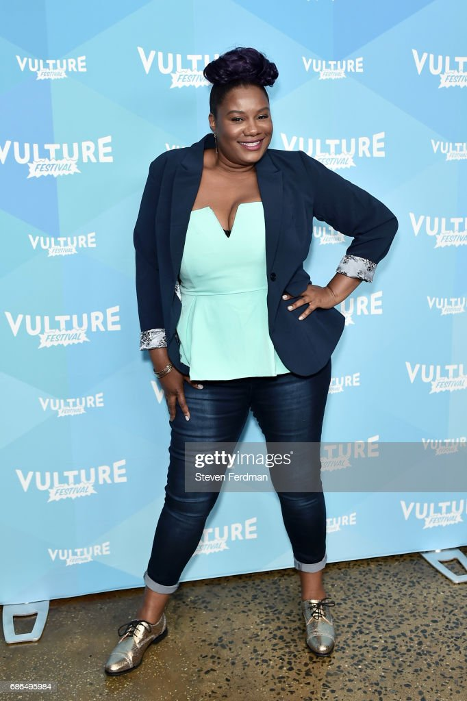Adrienne C. Moore attends the Pop Culture Trivia Game Show during Vulture Festival at Milk Studios on May 21, 2017 in New York City.