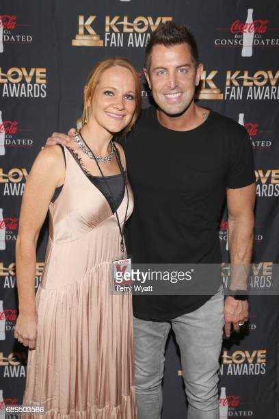 Adrienne Camp and Jeremy Camp arrive at the 5th Annual KLOVE Fan Awards at The Grand Ole Opry on May 28, 2017 in Nashville, Tennessee.