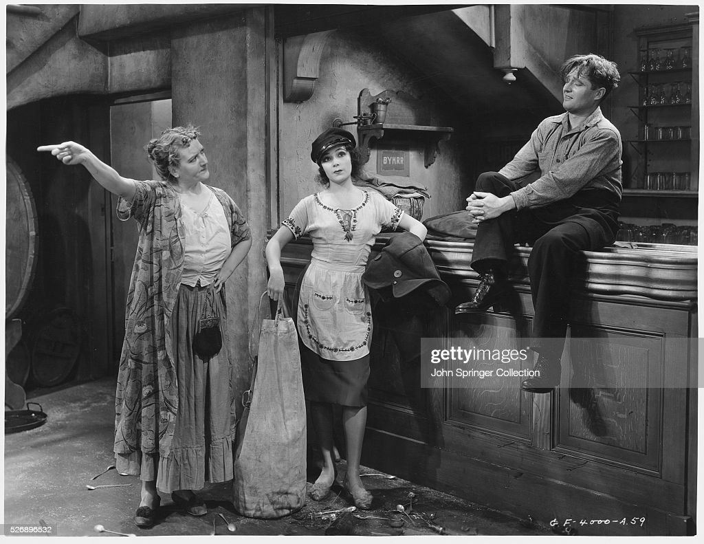 Adrienne D'Ambricourt, Dolores del Rio, and Edmund Lowe star in The Bad One.