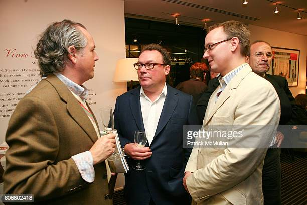 Adrienne Dannatt Paul Kasmin and Hayden Dunbar attend HIGH TEA FOR THE PREMIERE OF GALERIE MARK HOSTED BY ALEXICO GROUP JACQUES GRANGE PIERRE...