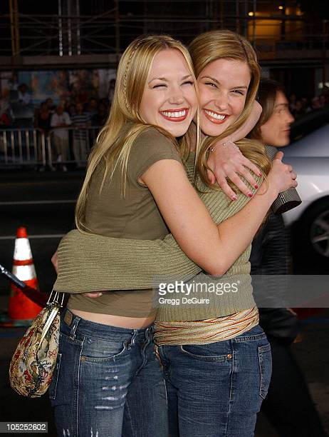 Adrienne Frantz and Marissa Tait during Underworld Premiere Hollywood at Mann's Chinese Theatre in Hollywood California United States