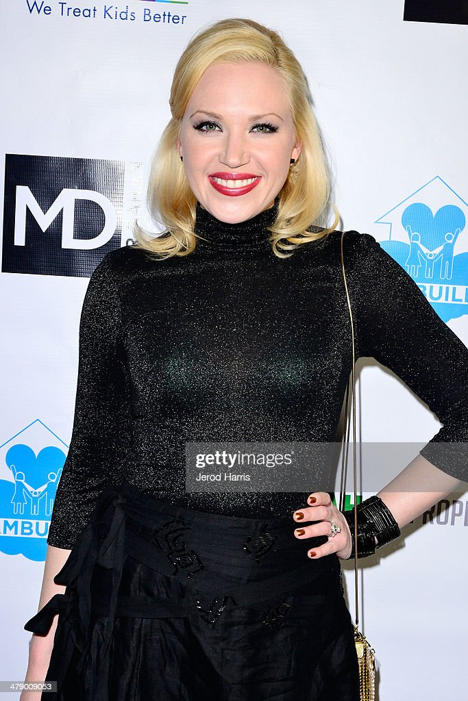 Adrienne Frantz arrives at the Dream Builders Project's 'A Brighter Future For Children' benefit at H.O.M.E. on March 15, 2014 in Beverly Hills, California.