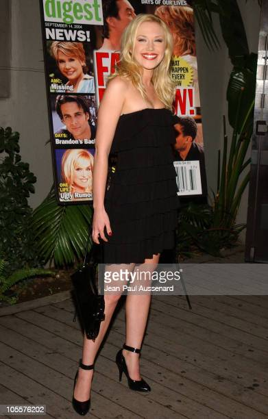 Adrienne Frantz during 19th Annual Soap Opera Digest Awards Reception Arrivals at White Lotus in Hollywood California United States