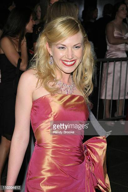Adrienne Frantz during 31st Annual Daytime Emmy Awards Arrivals at Radio City Music Hall in New York City New York United States