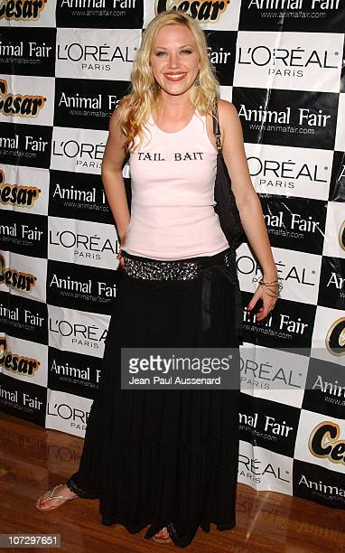 Adrienne Frantz during Animal Fair's 6th Annual Paws for Style Pet Fashion Show and Gala Charity Auction Arrivals at Loews Beverly Hills in Beverly...