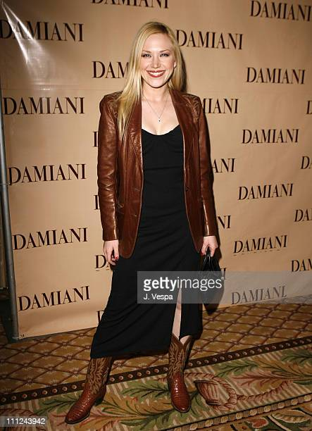 Adrienne Frantz during Damiani Launches The 'Sophia Loren' Collection at Four Seasons Hotel in Beverly Hills CA United States