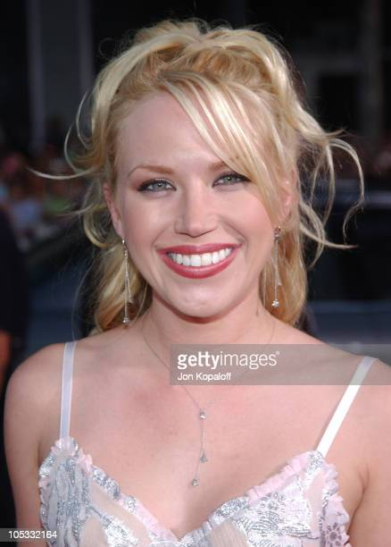 Adrienne Frantz during 'Exorcist The Beginning' World Premiere Arrivals at Grauman's Chinese Theatre in Hollywood California United States