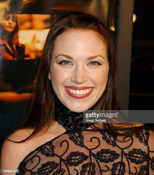 Adrienne Frantz during In The Cut Los Angeles Premiere Arrivals at Academy Theatre in Beverly Hills California United States