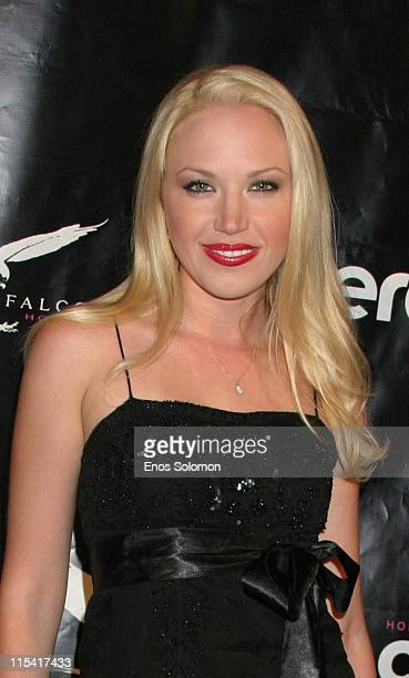 Adrienne Frantz during Launch of 'Hollywood Covered' Magazine and Niki Shadrow's Birthday at Falcon in West Hollywood California United States