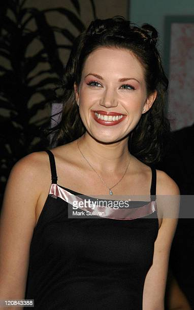 Adrienne Frantz during PanCAN's An Evening With the Stars at Beverly Hilton Hotel in Beverly Hills California United States