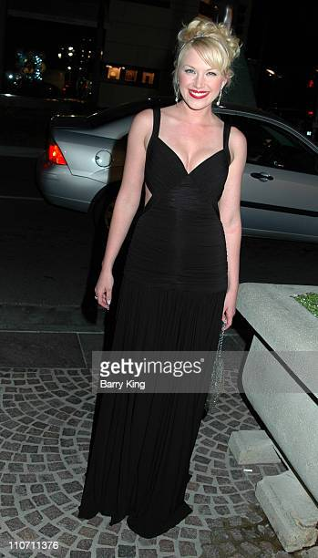 Adrienne Frantz during The Bold and the Beautiful 20th Anniversary Gala Arrivals at Two Rodeo in Beverly Hills California United States