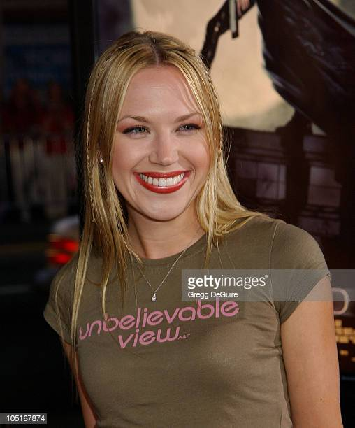 Adrienne Frantz during 'Underworld' Premiere Hollywood at Mann's Chinese Theatre in Hollywood California United States