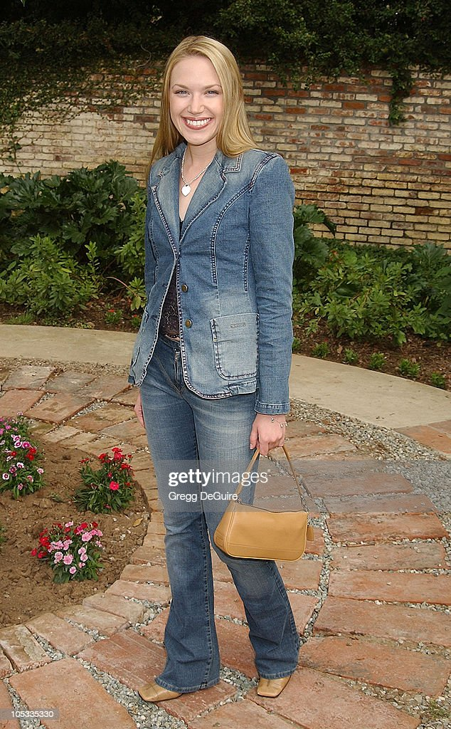 Adrienne Frantz during Wildlife Waystation Presents The 8th Annual Safari Brunch at Private Home in Pasadena, California, United States.