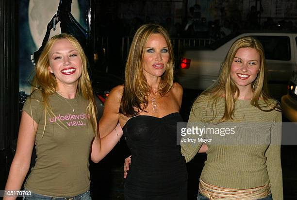 Adrienne Frantz Sarah Buxton and Marissa Tait during 'Underworld' Premiere Hollywood at Mann's Chinese Theatre in Hollywood California United States