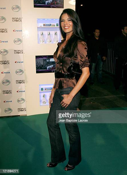 Adrienne Janic arrives at the Crest Scope People's Choice nomination announcement at Area Nightclub on November 8 2007 in West Hollywood California