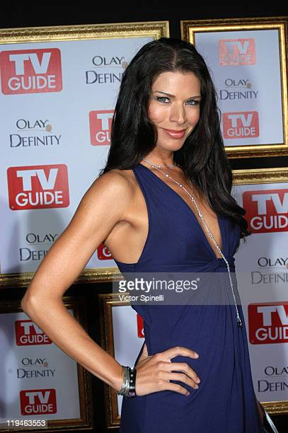 Adrienne Janic at the The 59th Primetime EMMY Awards TV Guide After Party at Les Deux on September 16 2007 in Los Angeles California