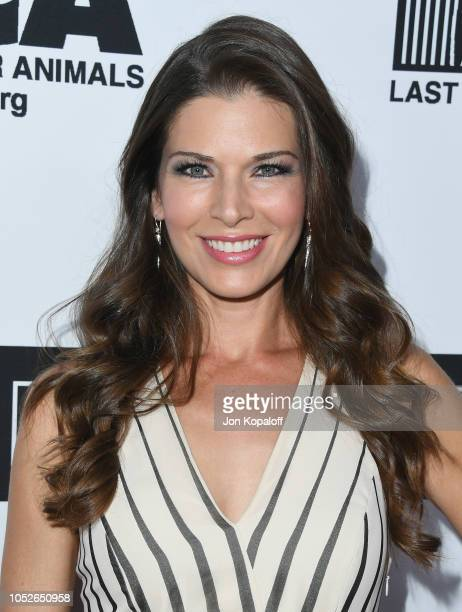 Adrienne Janic attends Last Chance For Animals' Hosts Annual Celebrity Benefit at The Beverly Hilton Hotel on October 20 2018 in Beverly Hills...