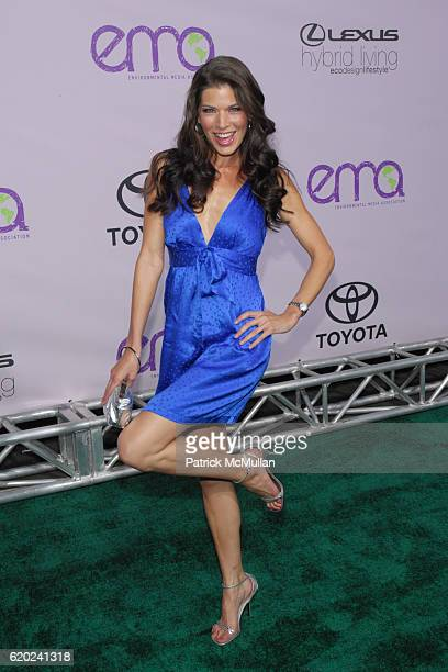 Adrienne Janic attends The 18th Annual ENVIRONMENTAL MEDIA AWARDS at The Ebell Theatre on November 13 2008 in Los Angeles CA