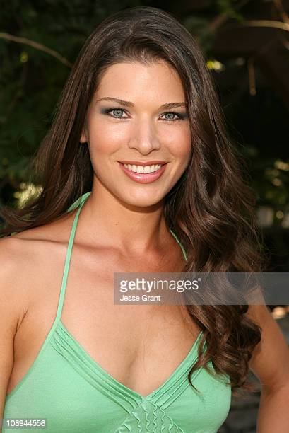 Adrienne Janic during 9th Annual GLAAD Cocktail Party Absolut Hancock Park at Private Residence in Los Angeles California United States