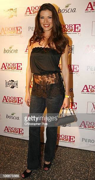Adrienne Janic during Adore Shop Magazine Presents All The Things We Adore Fashion Show at Avalon Hollywood in Los Angeles California United States