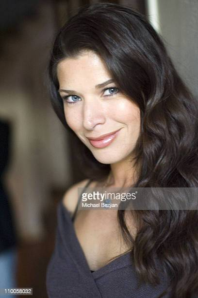 Adrienne Janic during Beauty Cafe Series 2007 Oscars Retreat in Los Angeles California United States