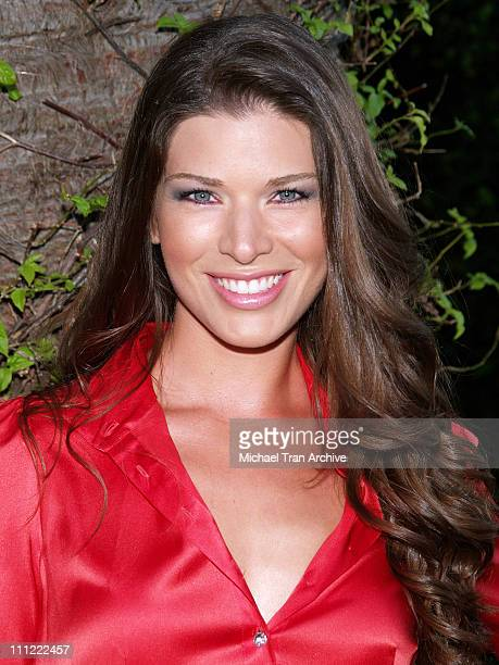 Adrienne Janic during E Entertainment Presents 2006 'Style LA' Fashion Show and Cocktail Party at Viceroy Hotel in Santa Monica California United...