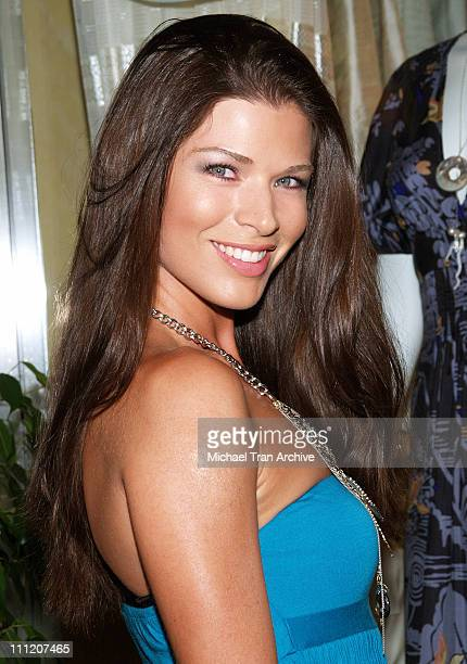 Adrienne Janic during Fashion Party for Alan Del Rosario August 24 2006 at Linda McNair Boutique in West Hollywood California United States