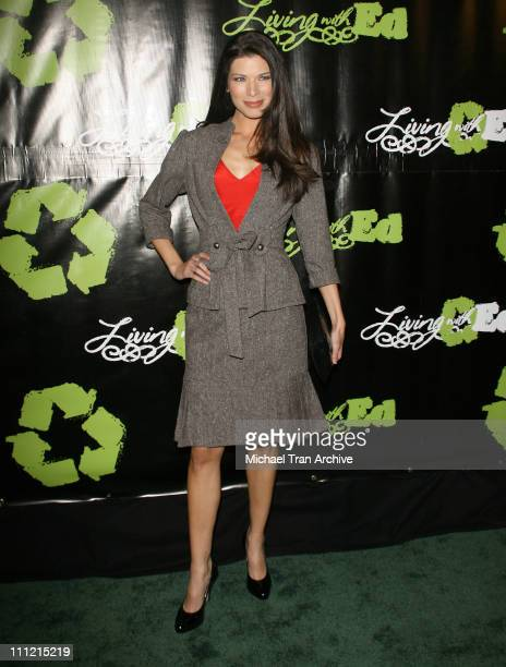 Adrienne Janic during HGTV's Living with Ed Special Screening Arrivals at Laemmel Sunset 5 Cinemas in West Hollywood California United States