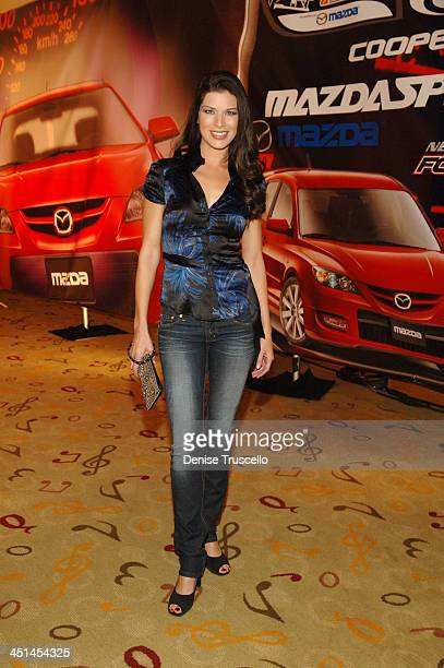 Adrienne Janic during Mazda Speed 3 Launch Party Hosted By Channel M at The Hard Rock Hotel and Casino Resort at The Hard Rock Hotel and Casino...