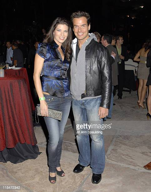 Adrienne Janis and Antonio Sabato Jr during MazdaSpeed3 Launch Party November 2 2006 at Poolside at the Hard Rock Hotel Casino in Las Vegas...