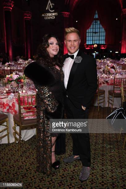 Adrienne Landau and Andrew Werner attend as the Accessories Council Hosts The 23rd Annual ACE Awards on June 10 2019 in New York City