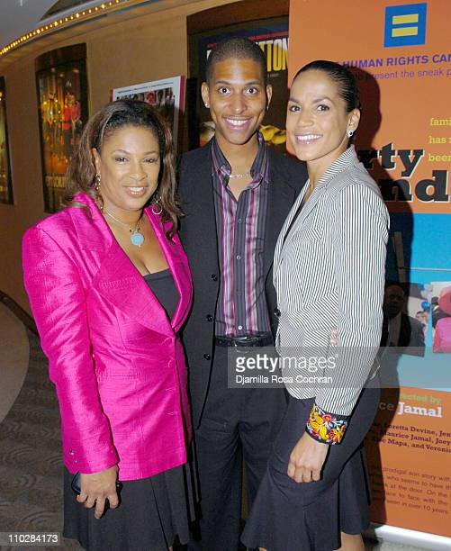 Adrienne Lopez Nathan Hale Williams and Crystal McCrary Anthony